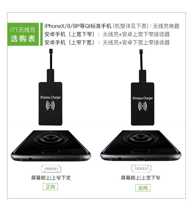 爱奇艺i71 5W无线充电器
